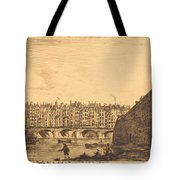Le Pont-au-change, Paris, Vers 1784 Tote Bag