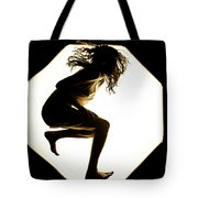 Leaping Tote Bag