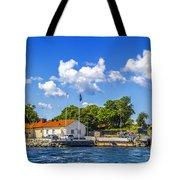 Leaving Gotland Tote Bag