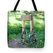 Leisure Cross Contry Cyclists Tote Bag