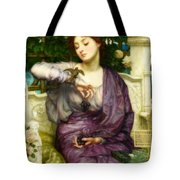 Lesbia And Her Sparrow Tote Bag