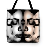 Let Her Cry  Tote Bag by Angelina Vick