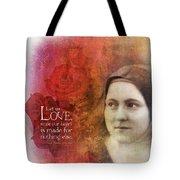Let Us Love II Tote Bag