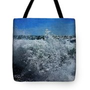 Levant Spray Tote Bag by Julian Perry
