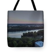 Libby Hill Sunset Tote Bag
