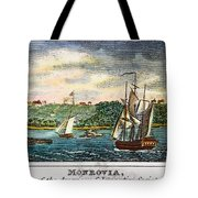 Liberia: Freed Slaves 1832 Tote Bag