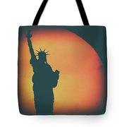 Liberty Sunset Tote Bag