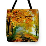Light In The Fog Tote Bag