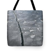 Light On The Ice  Tote Bag