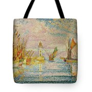 Lighthouse At Groix Tote Bag
