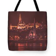Lights Of Budapest Tote Bag