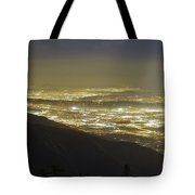 Lights Of Los Angeles, California Tote Bag