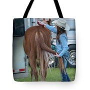 Lil' Cowgirl Tote Bag