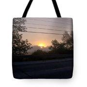 Lilac Dawn Tote Bag