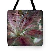 Lily Blossom Tote Bag