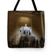 Lincoln Statue Tote Bag