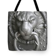 Lion And Snake Tote Bag