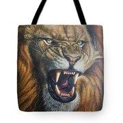 Lion Roar Tote Bag