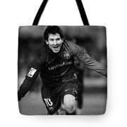 Lionel Messi 1 Tote Bag