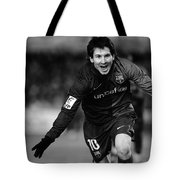 Lionel Messi 1 Tote Bag