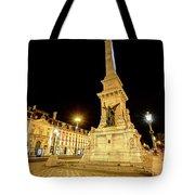 Lisbon By Night Tote Bag