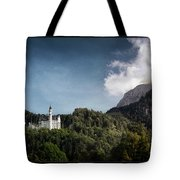 Little Castle On The Hill Tote Bag