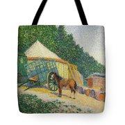 Little Circus Camp  Tote Bag