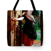 Little Nell Leaving The Church Tote Bag