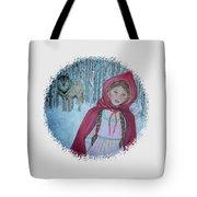 Little Red Riding Hood  Tote Bag by The Art With A Heart By Charlotte Phillips