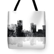 Little Rock Arkansas Skyline Tote Bag