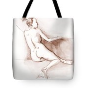Live Model Figure   Tote Bag