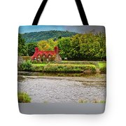Llanrwst Bridge And Tea Room Tote Bag