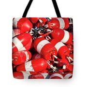 Lobster Buoys. Tote Bag