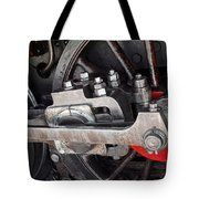 Locomotive Wheel Tote Bag