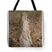 Log In The Woods Tote Bag