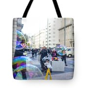 London Bubbles 8 Tote Bag