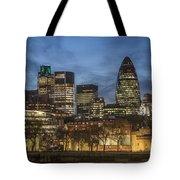 London Financial District Tote Bag