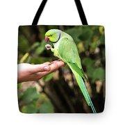 London Parakeet Tote Bag