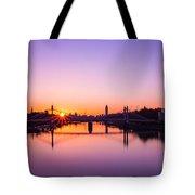 London Sunrise  Tote Bag