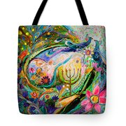 Longing For Chagall Tote Bag
