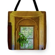 Looking Out The Window Tote Bag