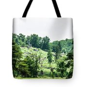 Looking Up At Little Round Top Tote Bag