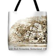 Lorelei Rock Formation, Switzerland, 1903 Tote Bag