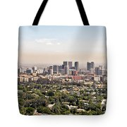 Los Angeles California - Glitter And Trouble Tote Bag