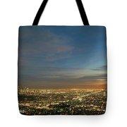 Los Angeles City Of Angels Tote Bag