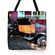 Lost Ford Tote Bag