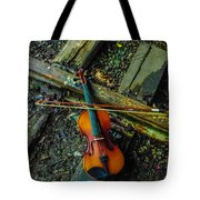 Lost Violin Tote Bag
