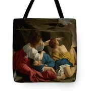 Lot And His Daughters Tote Bag
