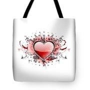Hearts 8 T-shirt Tote Bag