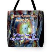 Love Of Christ Tote Bag